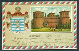 LUXEMBURG...EICHEN..CHATEAU..BLASON..ARMOIRIE .. LION..COURONNE..C2377 - Cartes Postales