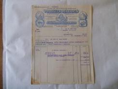 MARSEILLE ETABLISSEMENTS L. HERMIER USINE DE TRITURATION SPECIALE PRODUITS MAZARIN 20 Bd CAMILLE FLAMMARION 18 JUIN 1941 - France