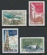 FRANCE 1959 . Série N°s 1203 à 1206 . Oblitérés . - France