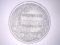 POLYNESIE FRANCAISE - 2 FRANCS 1977 - Polynésie Française