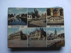 België Belgique West Vlaanderen Kortrijk Courtrai Groeten Uit - Kortrijk