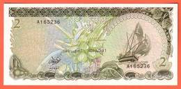 Billet - MALDIVES - 2 Rufiyag De 1983 - Pick 9 - Maldives