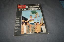 Cyclisme,Le Meilleur,Eddy Merckx,revue Le Patriote Illustré,Septembre 1967,sport,coureurs Cycliste,pour Collection - Cyclisme