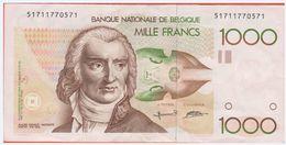Billet - BELGIQUE - 1.000 Francs De 1980 -96 - Pick 144a - [ 2] 1831-... : Belgian Kingdom