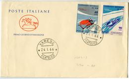 Campionate Mondiale Di Bob FDC 1966 B171020 - 1961-70: Marcophilia