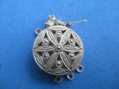 Bijou Fantaisie/ Fermoir De Collier 3 Rangs /Vers 1930-1960       BIJ81 - Jewels & Clocks