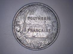 POLYNESIE FRANCAISE - 5 FRANCS 1965 - French Polynesia