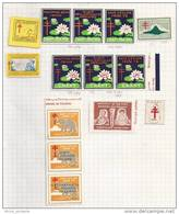 Ceylan, Vignette Tuberculose - Sri Lanka (Ceylon) (1948-...)