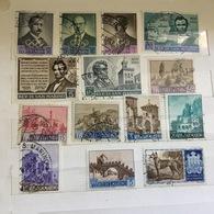 1949 -1966 SAN MARINO Lotto 14 Usati E Nuovo : PAESAGGI, PRE OLIMPICA, CANI... - San Marino