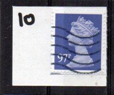 GB 2009-2017 97p SECURITY MACHIN Used M14L MAIL - Machins