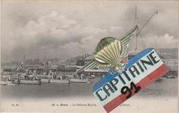 CPA BREST FINISTERE LA DEFENSE MOBILE BASSIN DES TORPILLEURS - Brest