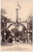 CENAC - Arc De Triomphe élevé Par La Sté Des Ciments De  DOMME Pour Le Voyage De Poincaré En Périgord Le 15/09/1913 - Autres Communes
