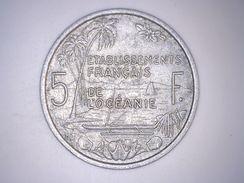 ETABLISSEMENT FRANCAIS DE L'OCEANIE - 5 FRANCS 1952 - French Polynesia