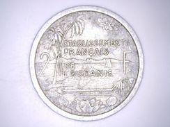 ETABLISSEMENT FRANCAIS DE L'OCEANIE - 2 FRANCS 1949 - French Polynesia
