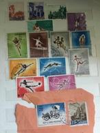 1955 - 1964  SAN MARINO  Lotto 16 Usati : VEDUTE, PREOLIMPICA, OLIMPIADE A TOKYO - San Marino