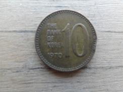 Koree Du Sud  10 Won  1970  Km 6 - Korea, South