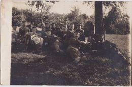 FR2381  - APREMONT -1917  -  SOLDATEN TRINKEN BIER -  PHOTO PC  -   FELDPOST  ( AUS  LOT VON 120 PC VON DEUTSCHE SOLDAT - France