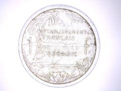 ETABLISSEMENT FRANCAIS DE L'OCEANIE - 1 FRANCS 1949 - French Polynesia