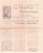 La France Philatelique Revue Mensuelle Numero159 Du 25/03/1939 - Journaux - Quotidiens