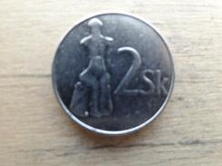 Slovaquie  2  Koruna  1993  Km 13 - Slovaquie