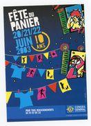 Carte Pub - BOUCHES DU RHONE -  COLLECTION N°193 - FÊTE DU PANIER 2003 - Marsella