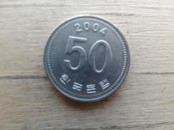 Koree Du Sud  50 Won  2004  Km 34 - Korea, South
