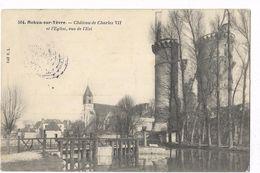 Mehun-sur-Yèvre - Château De Charles VII Et L'Eglise, Vu De L'Est - Mehun-sur-Yèvre