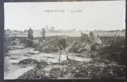Pirou-Plage - La Pêche - Animée + Paire Horizontale YT N°159 + Timbre YT N°111 - Cachet 1927 - France