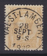 N° 50   VAL SAINT LAMBERT - 1884-1891 Léopold II