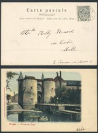 YY234 Carte De Bruges à Moll 1905 - 1893-1907 Armoiries