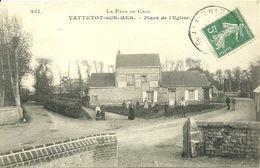 VATTETOT-SUR-MER  - Place De L' Eglise - France