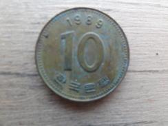 Koree Du Sud  10 Won  1989  Km 33 - Korea, South