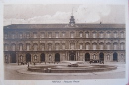 NAPOLI - PALAZZO REALE, VIAGGIATA - Napoli