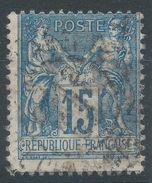 Lot N°38301  N°90, Oblit Cachet à Date à Déchiffrer - 1876-1898 Sage (Type II)