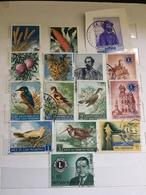 1957 -1960  SAN MARINO Lotto 15 Usati : AGRICOLTURA, FIERA , LIONS , GARIBALDI - San Marino