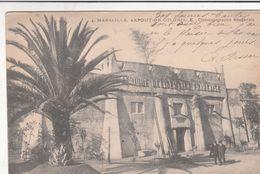 Cp , 13 , MARSEILLE , Exposition Coloniale 1906 , Cinématographe Soudanais - Expositions Coloniales 1906 - 1922