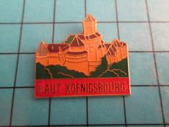 PIN910B Pin's Pins / De Belle Qualité Et Rare VILLES / CAHTEAU DU HAUT KOENIGSBOURG - Villes