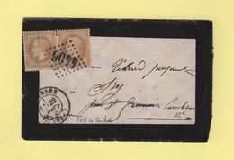 Le Cendre - 62 - Puy De Dome - GC 4406 - 12 Dec 1870 - 1849-1876: Classic Period
