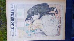 75- PARIS- REVUE LE JOURNAL- JEUDI 8 NOVEMBRE 1900- ILLUSTRATEUR ABEL FAIVRE-L' AUSCULTATION MEDECINE MEDECIN- VILLEMOT- - Books, Magazines, Comics