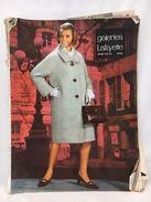 Catalogue Galeries Lafayette Hiver 1965-1966 - Mode