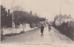 DE COUTANCES A COUTAINVILLE : TOURVILLE . - France