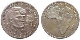 100 Francs 1970 (Chad) Silver - Ciad