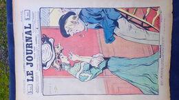 75- PARIS- REVUE LE JOURNAL- JEUDI 25 OCTOBRE 1900- ILLUSTRATEUR F. BAC- MELANCOLIE-FEMME ELEGANTE-EXPOSITION WEILUC- - Books, Magazines, Comics