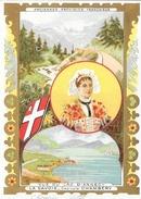 Chicorée Extra Belle Jardinière (C. Bériot à Lille), La Savoie (anciennes Provinces Française) Savoyarde, Lac D'Annecy - Cromo