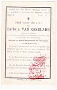 DP Barbara Van Osselaer ° Melsele Beveren 1825 † 1894 - Images Religieuses