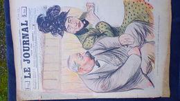 75- PARIS- REVUE LE JOURNAL- JEUDI 4 OCTOBRE 1900- ILLUSTRATEUR- CHASSE CHASSEUR WEILUC-HUARD-PASQUIER-CAPY - Books, Magazines, Comics
