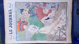 75- PARIS- REVUE LE JOURNAL- JEUDI 27 SEPTEMBRE 1900- ILLUSTRATEUR F.BAC- BELLE ELEGANTE SOURIS- SANDY HOOK-ESPAGNAT- - Books, Magazines, Comics
