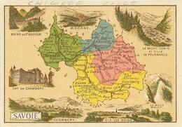 Chromo: Département De La Savoie, Chicorée Extra A La Belle Jardinière (C. Bériot à Lille) - Cromo