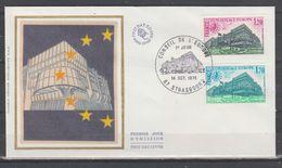 Conseil De L 'Europe N° 56 / 57 ~ Le 14 / 10 / 1978 Strasbourg - Lettres & Documents