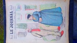 75- PARIS- REVUE LE JOURNAL- JEUDI 13 SEPTEMBRE 1900-EXPOSITION UNIVERSELLE- FLORENCE- ILLUSTRATEUR JACK-CHAMONIN - Books, Magazines, Comics